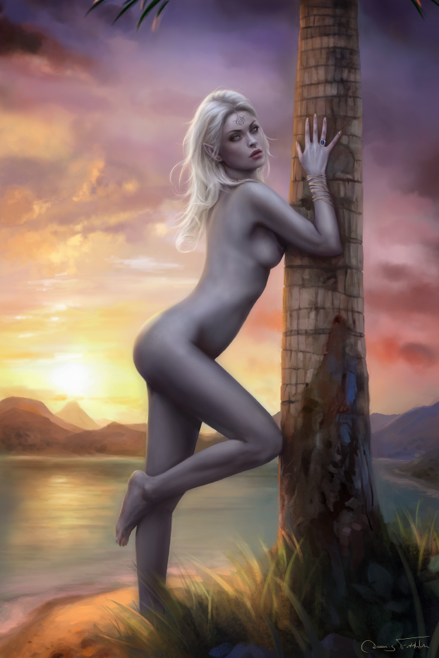 Ardulace Pinup (nude version) by Jorsch
