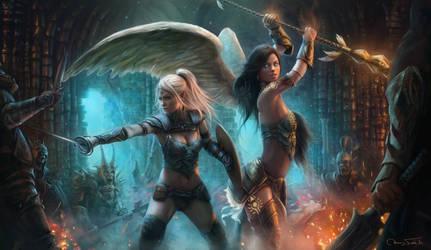 Mayhem - Ardulace and Nicole by Jorsch