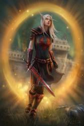Bloodelf Paladin by Jorsch