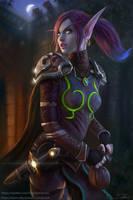 Void Elf Rogue Sharwyn