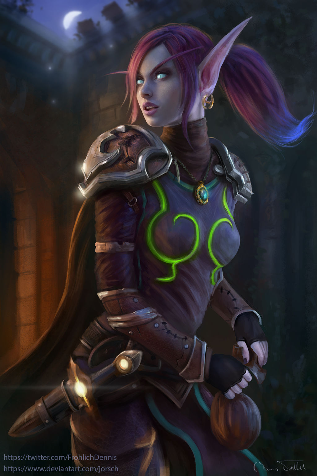 Void Elf Rogue Sharwyn By Jorsch On Deviantart You need to be a level 120 blood elf and exalted with silvermoon city in order to initiate the quest. void elf rogue sharwyn by jorsch on