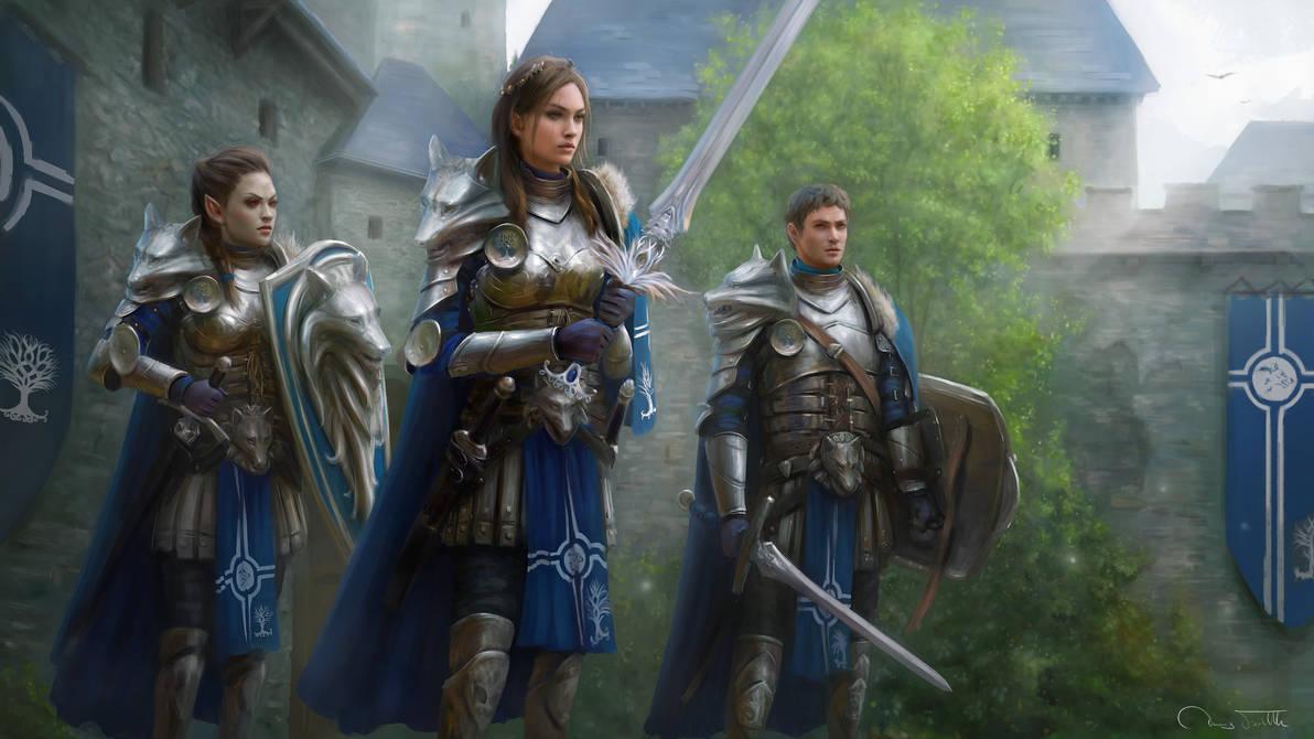 Luna and the Wolf Guard by Jorsch