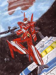 Crimson Aesir by shamoncornell