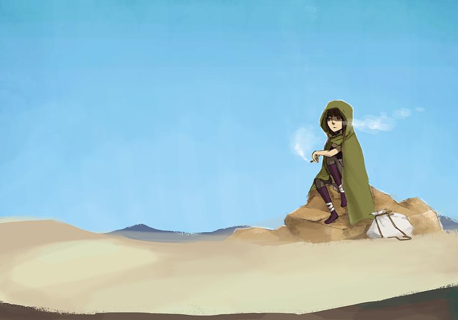Sograt Desert by BOOOOON