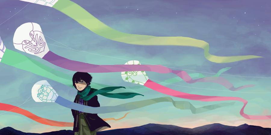 Snake Kites by BOOOOON