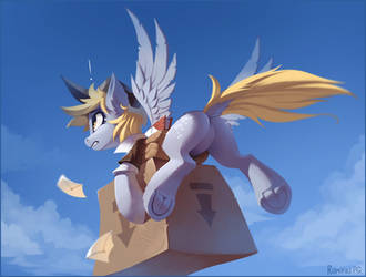 Equestria delivery service by Ramiras
