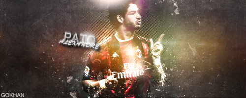 Alexandre Pato sign by Gokhan88