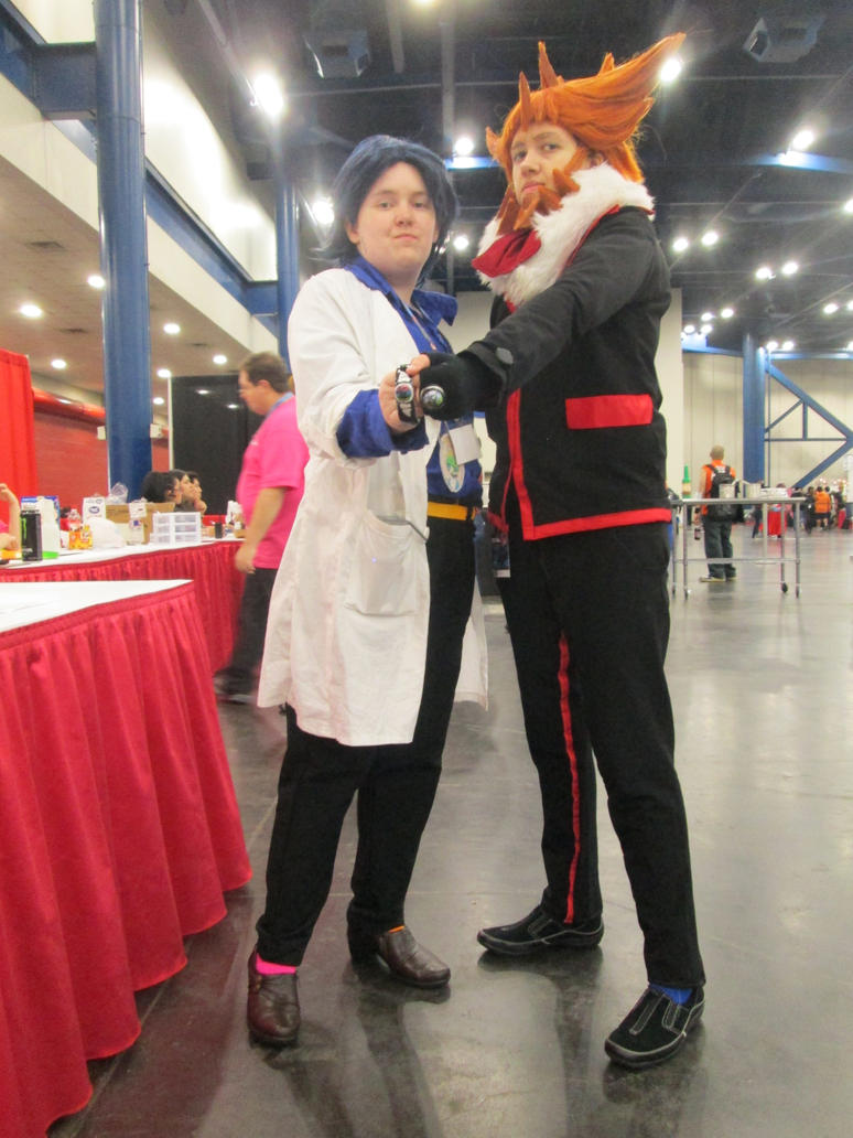 Lysandre and Sycamore cosplay AM 2015 by yamihp7