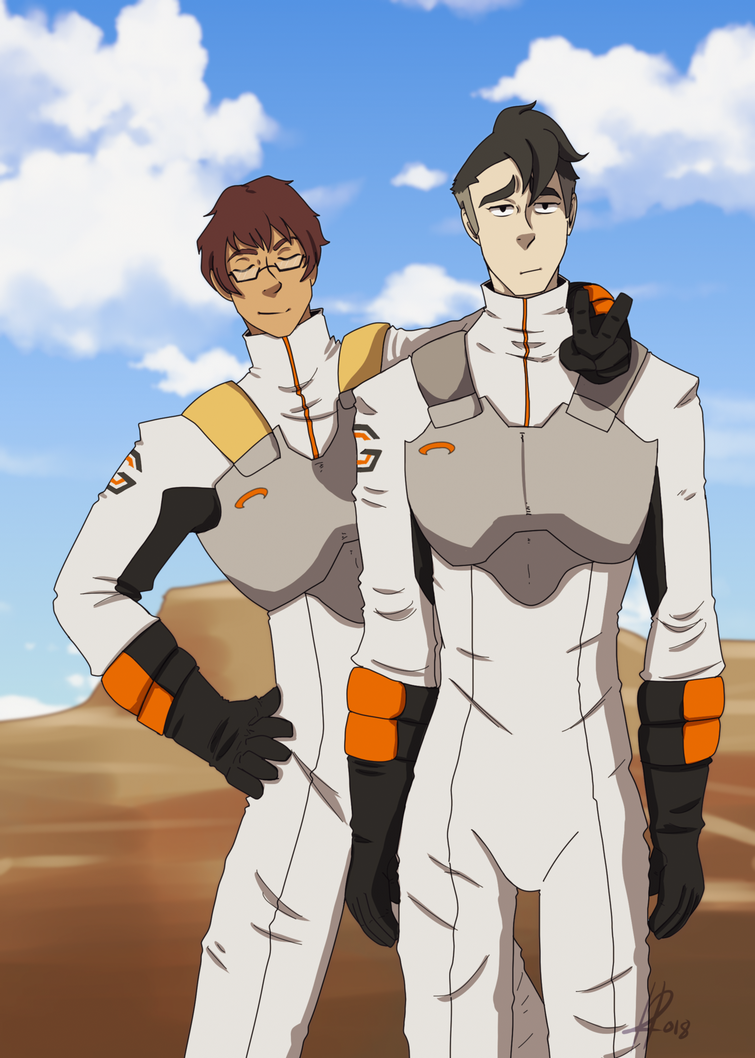 Adam and Takashi From VLD by NightmareCaster