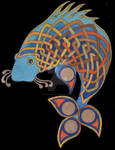 celtic fish I by McCracken-Art
