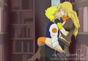 Naruto And Yang: Moment of Intimacy by TheRealKyuubi16