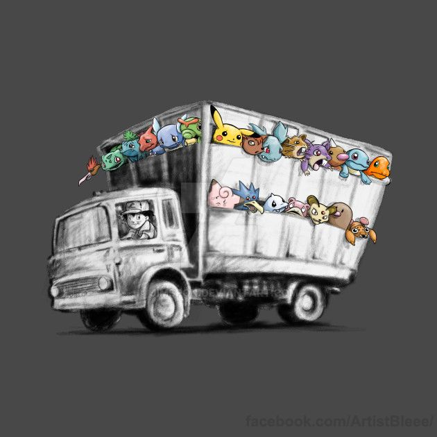 Pokesy truck by jimspon