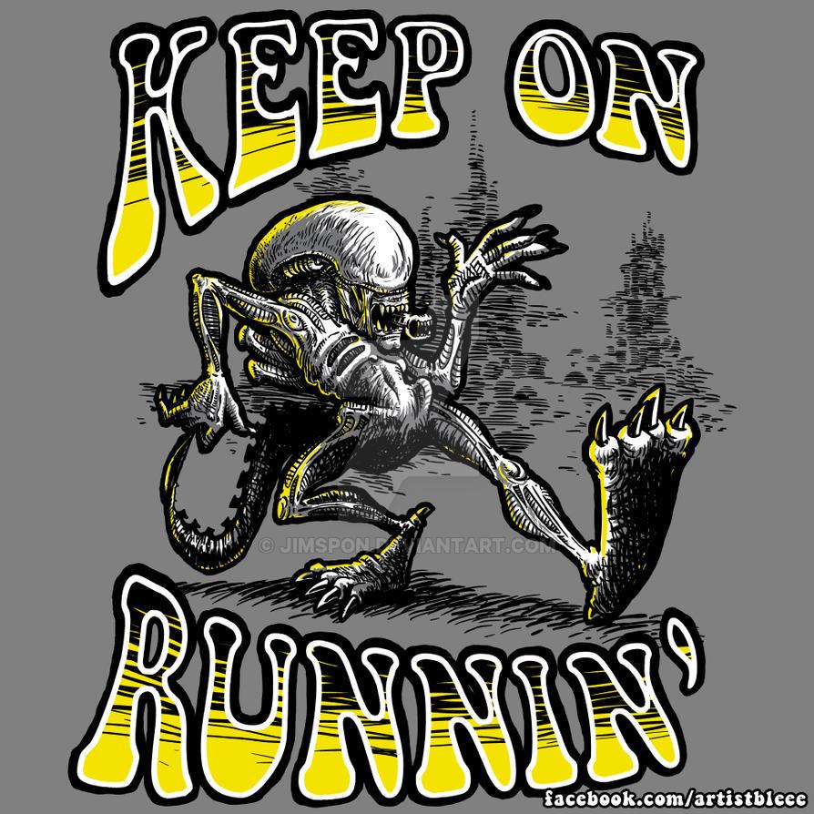 Keep on runnin' by jimspon