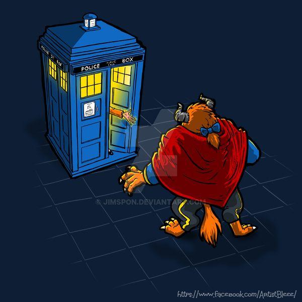 Tardis beast (new Dr Who) by jimspon
