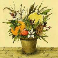 The pot of autumn / 2011.09