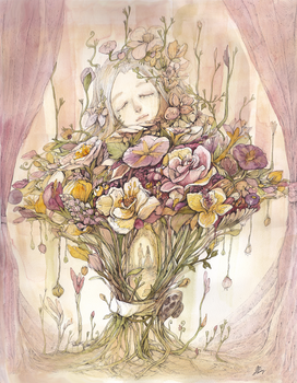 [ The language of flowers ' eternity' ]