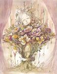 [ The language of flowers ' eternity' ]