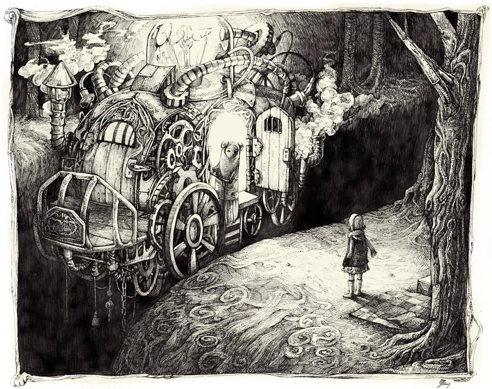 [ Strange night wanderers / Encounter ]