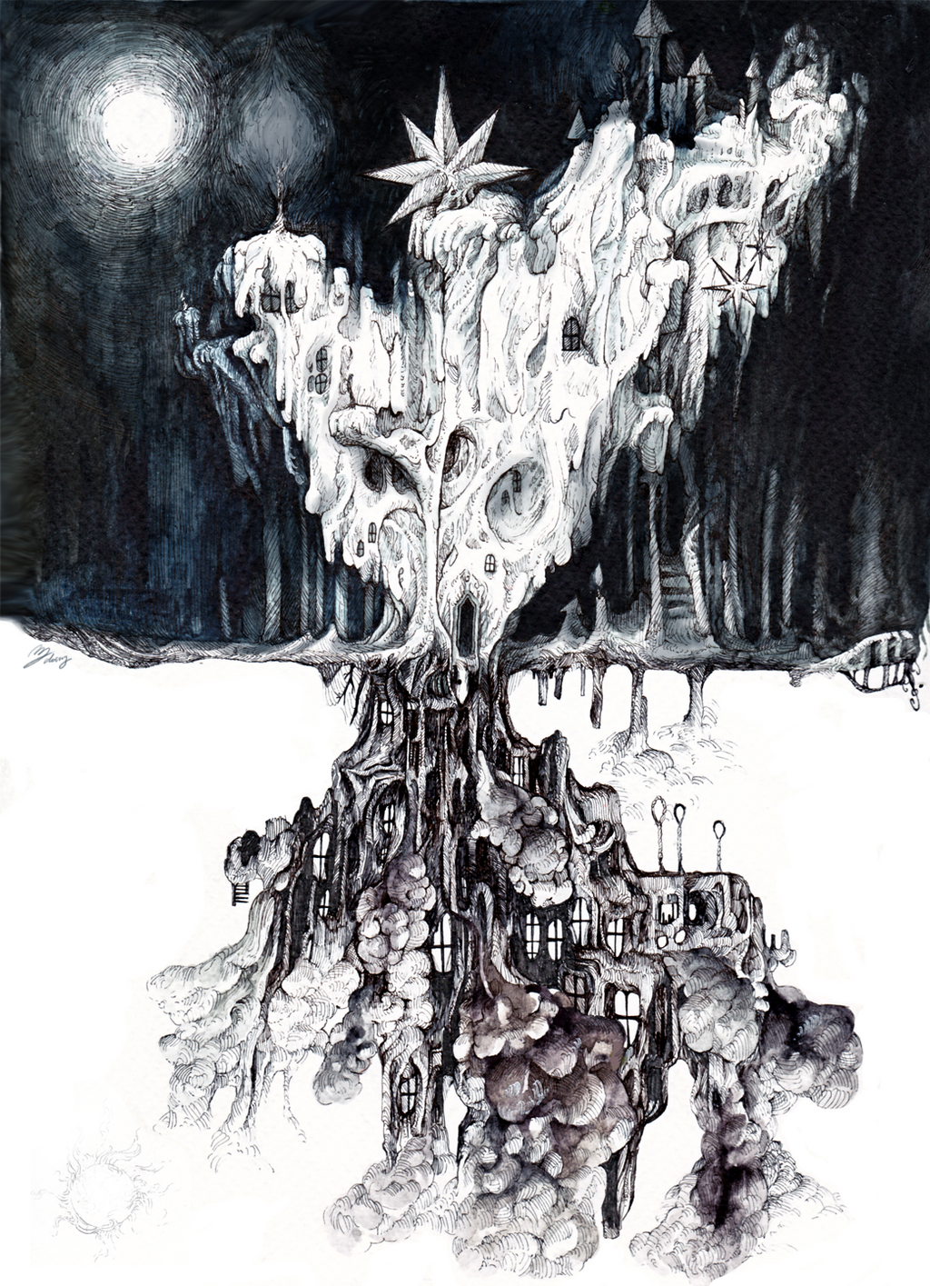[ The residence of white wax and soot ] by doming92