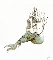 Sad Mermaid by doming92