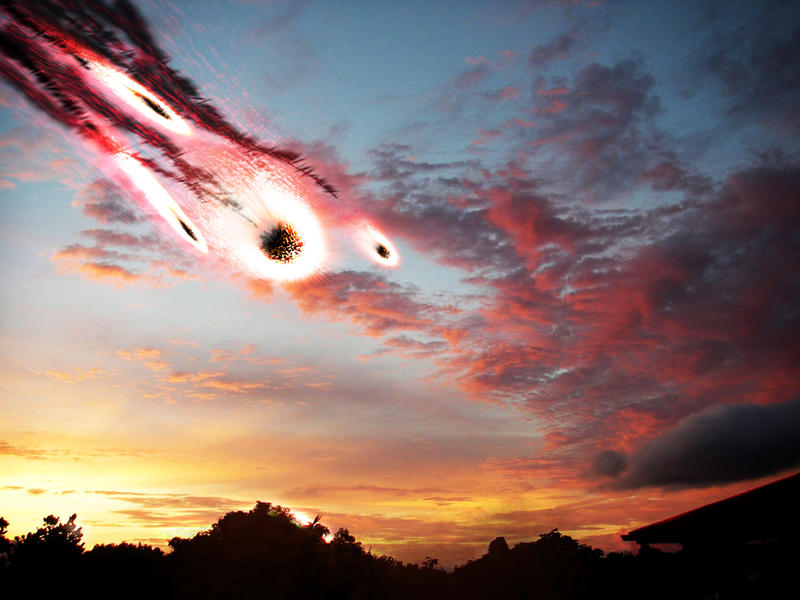 asteroid in the sky - photo #39