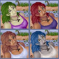 Furc : Erika Portrait by OnyxSerpent