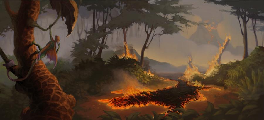 Zikkihuru : Lava by OnyxSerpent