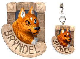 Badge Com. : Bryndel by OnyxSerpent