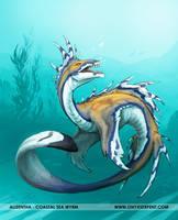 Alizentha - Coastal Sea Wyrm by OnyxSerpent