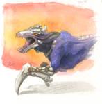 Inktober #21 - Skulk