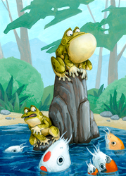 Frogs by OnyxSerpent