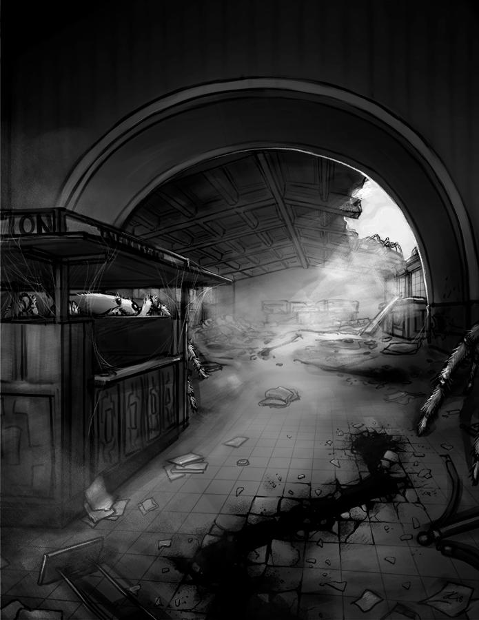SimAnt - Ruins