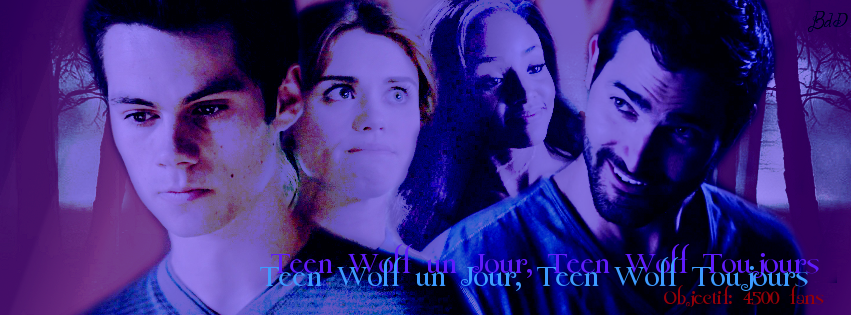Couverture (Teen Wolf Un Jour, Teen Wolf Toujours) by Bdazzle