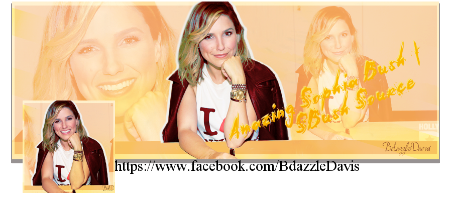 Kit Facebook (Amazing Sophia Bush - SBushSource).7 by Bdazzle