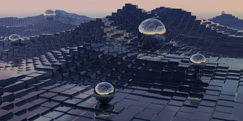Blocks and Spheres by fence-post