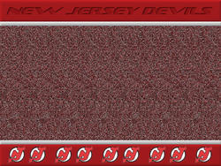 New Jersey Devils Stereogram by fence-post