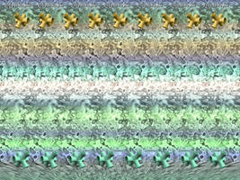 'Wallwalker' 3D Stereogram by fence-post