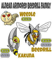 Beedrill Family by ajkent14z