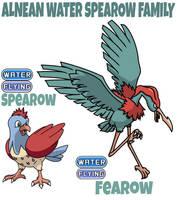 Spearow Family by ajkent14z