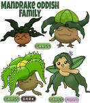 Oddish Family