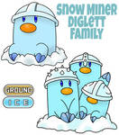 Diglett Family