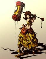 Torn Daisy by Twilit-Arawen