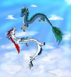 Dragon Flight by Dusk-Sky