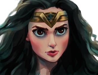 Wonder Woman by seroglazka