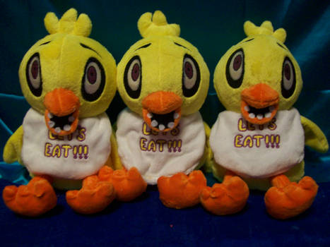 Five Nights at Freddy's Chica Plush!