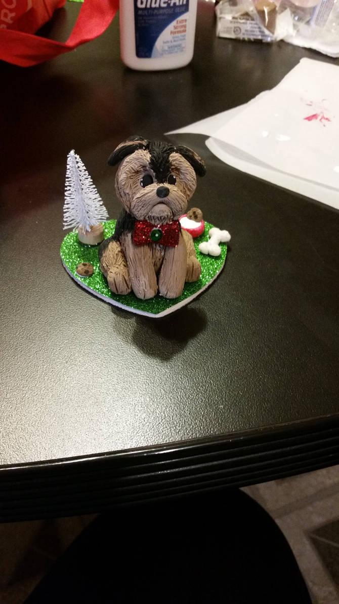 Dog ornaments by PollyRockets