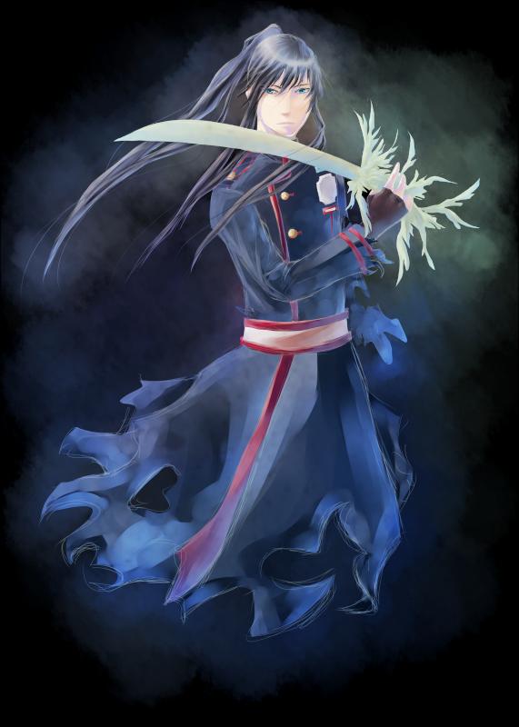 DGM - Kanda - Feather by Scarlet-Shinigami
