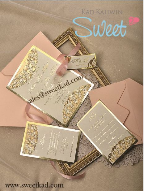 Wedding Favors Thank You Card Malaysia Sweetkad By Workmail On