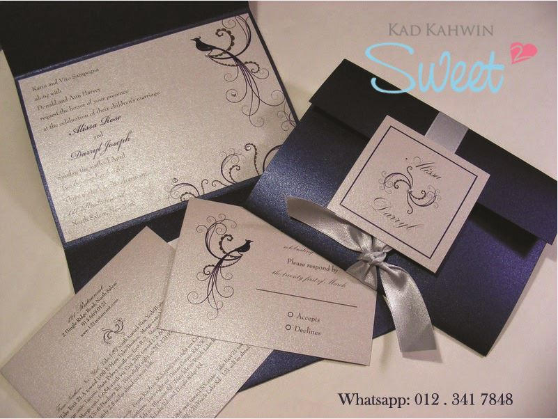 Template Kad Kahwin Jemputan Malaysia Sweet Kad By Workmail On Deviantart