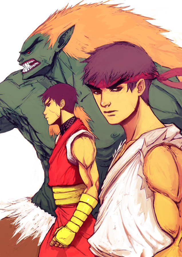 street fighter alpha favs by fdp82